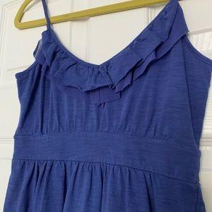 Banana Republic Factory Dresses - Banana Republic Summer Ruffle Knit Dress